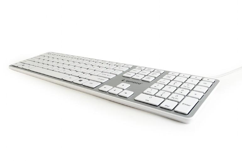 Chocolate Keyboard, US layout, white (KB-MCH-02-W)